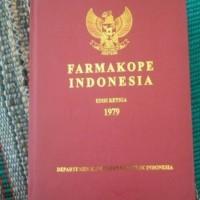 farmakope indonesia edisi 3 harga grosir