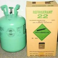freon kiloan jenis R22 refrigerant.