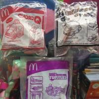 Happy Meal McDonald Choro Q & Teenage Mutant Ninja Turtles