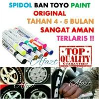 Jual Spidol Ban Mobil Motor TOYO PAINT Original Import Murah