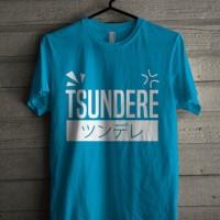 Kaos Anime / Baju Anime / T shirt Anime Logo Tsundere