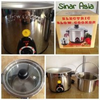 Jual AIGLE Panci Stainless Steel | Electric Slow Cooker 3.5L  Murah