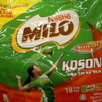 Milo Kosong 18 Sachets