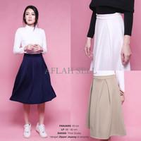 Jual QWK Wide Pleated Skirt Rok Wanita Lipit (CSK112) Murah