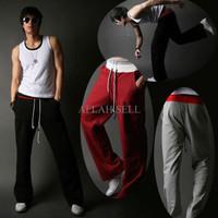 Jual QWK Celana dance training jogger olahraga harem baggy sweat pants spor Murah