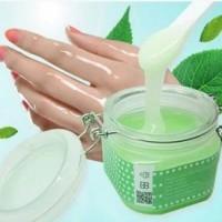 Jual MISS MOTER Matcha & Milk Hand Wax /Mis Motter Korean Green Tea Gel Wax Murah