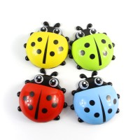 KBM - Ladybug toothbrush holder tempat sikat gigi odol motif kumbang