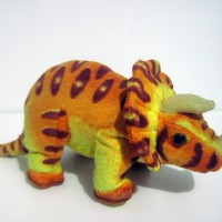 Boneka Triceratops Dinosaurus Doll Original Universal Studio Singapore