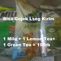 Jual Milo Complete Mix Profesional 960gr + Nestea Lemon Tea 1kg + Green Tea Murah