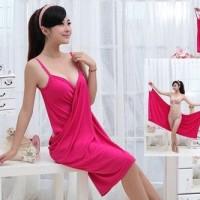 Jual Multifungtion Women's clothing 5 warna baju handuk pantai beach towel Murah
