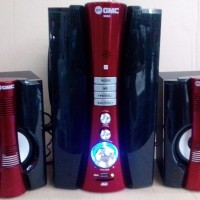 GMC 888G Multimedia Speaker Aktif 60WRMS Active Subwoofer System 2.1Ch