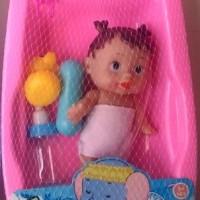 Jual MAINAN BAK MANDI FUNNY BATH TUB BABY DOLL PINK Murah