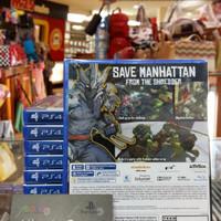 Jual JUAL Ps4 Teenage Mutant Ninja Turtles: Mutant In Manhattan Reg 3 Murah