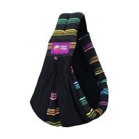 Jual LM Baba slings Stripe Gendongan Bayi - Neon Stripe Murah