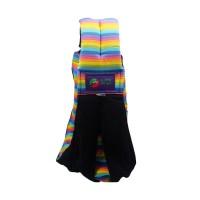 Jual LM Baba slings Stripe Gendongan Bayi - Black Rainbow Murah