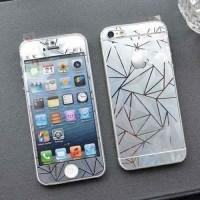 Jual TERMURAH Tempered Glass 2 IN 1 MIRROR 3D Iphone 5/5G/5S/5C (Anti  Murah
