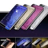 Jual TERMURAH Tempered Glass 3D Mirror Diamond Iphone 6+ Plus DB (Scr  Murah