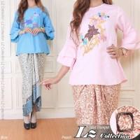 Jual blouse terompet set lilit Murah