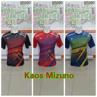 Grosir Kaos Volley Mizuno Garis New 2017 (min 12pcs)