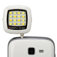 Jual Lampu Selfie / Selfie Light Boom LED Flash Portable Murah Murah
