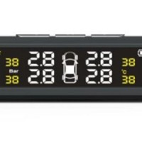 Ninetysmart Tire Pressure Monitoring System (solar Tpms)