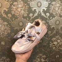 Jual MURAH Puma Rihanna Bow / sepatu cewe / kado cewe / sepatu running / sn Murah