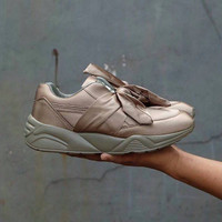 Jual PROMO Puma Rihanna Bow / sepatu cewe / kado cewe / sepatu jalan jalan Murah