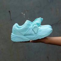 Jual SEPATU Puma Rihanna Bow Tosca / sepatu cewe / kado cewe / sepatu jalan Murah