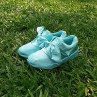 Jual PROMO Puma Fenty Bow Pink / sepatu cewe / kado cewe / sepatu running Murah