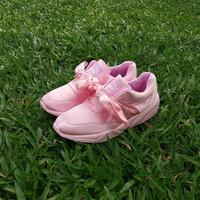 Jual DISKON Puma Fenty Bow Pink / sepatu cewe / kado cewe / sepatu running Murah