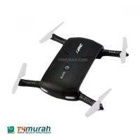 Mini Drone Dengan Kamera 2 MP Full Set JJRC ELFIE Hitam Elegan