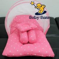 BBSS - kasur bayi lipat kelambu bess - matras bayi - baju bayi