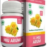 HIU ARUM Obat Herbal Penghilang Bau Mulut Bau Badan Nafas Tidak Sedap
