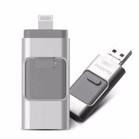 Jual FlashDrive USB OTG combo 3in1 3 in 1 Android and Iphone 32GB 32 GB Murah