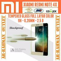 XIAOMI REDMI NOTE 4X anti gores kaca film Full layar Hp Note4 x Temper