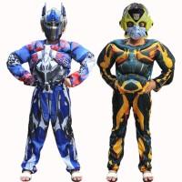 Jual Kostum Anak Transformer / Topeng Nyala Murah