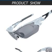 Jual Kacamata 3 lensa warna abu-abu untuk sepedaan, motor, d TERLARIS Murah