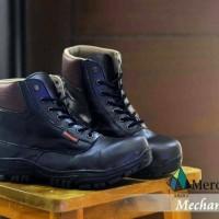 Jual SALE OBRAL BOOTS MRCH MECHANIC SERAGAM PROYEK SAFETY UJ Diskon Murah
