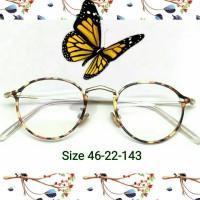 Harga kacamata korea baca grosir murah frame tortoise minus wanita | antitipu.com