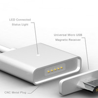 Jual Terlaris Micro USB Charger Magnetic Quick Charging Cable for Smartphon Murah