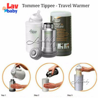 Jual PROMO Tommee Tippee Travel warmer bottle termos air  MURAH MERIAH Murah