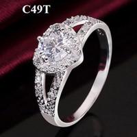 Jual limited Cincin Zircon Love (anting gelang kalung xuping perhiasan) Murah
