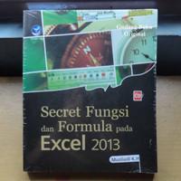 Secret Fungsi dan Formula pada Excel 2013