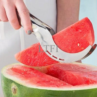 Jual PENGIRIS PEMOTONG SEMANGKA BUAH FRUIT CUTTER PISAU KNIFE - Best Buy Murah