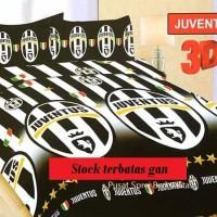 Jual Bonita Sprei Juventus 3D King 180×200 Murah