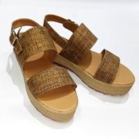 Terlaris sandal wedges wanita terbaru 2017