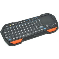 harga Qq Keyboard Bluetooth Mini Dengan Touchpad & Mouse - Black Tokopedia.com