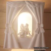Lampu Dinding Kapur atau Gypsum E911-119