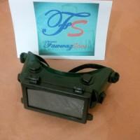Kacamata Las KRISBOW - Welding Goggles Black Kotak