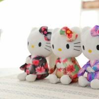 Jual Boneka Hello Kitty Kimono Kawaii 20cm / Hello Kitty Kimono Kawaii Doll Murah